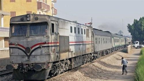 قطار يدهس مواطنا بعد صلاة العيد بالإسماعيلية