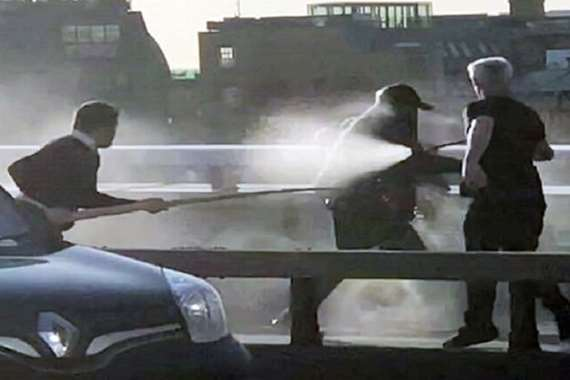 حادث طعن لندن