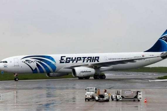 مصر للطيران تعلق رحلاتها إلي الصين