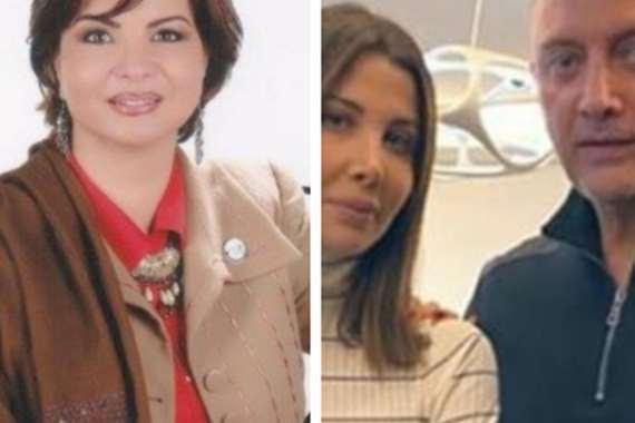نانسي عجرم وزوجها والمحامية
